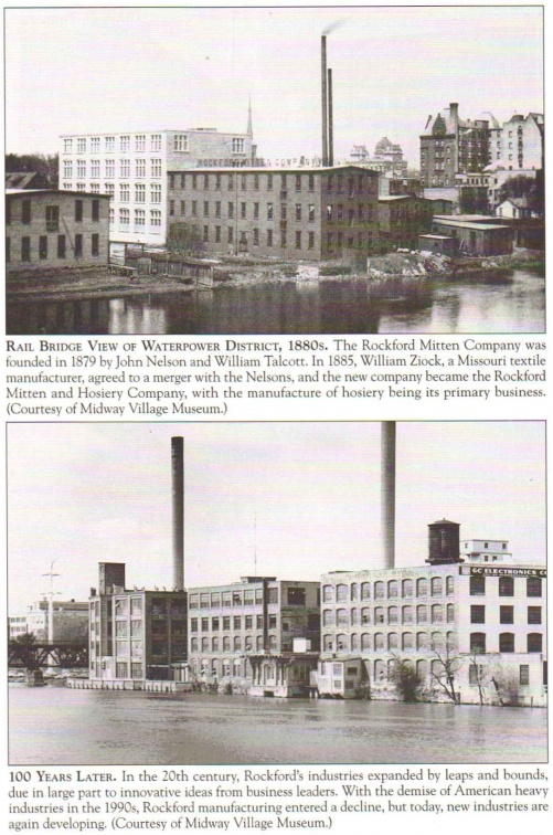 THE ROCKFORD WATERPOWER DISTRICT
