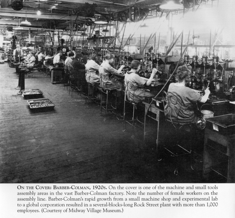 The Barber-Colman factory in the 1920 s