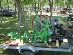 An Elmer Woodward mechanical water wheel Governor model type D from 1902.