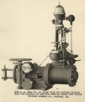 Historical Elmer Woodward Oil Pressure Water Wheel Governor information.