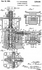 Elmer E. Woodward propeller engine governor patent 2204640