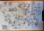 Woodward Main Engine Fuel Control schematic for the GE F110 jet engine
