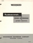 Elmer Woodward's fundamentals of speed governing.