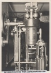 A 1914 PHOTO OF A WOODWARD OIL PRESSURE WATER WHEEL GOVERNOR.