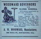 Oldwoodward.com's oldest advertisement found to date, circa 1890.