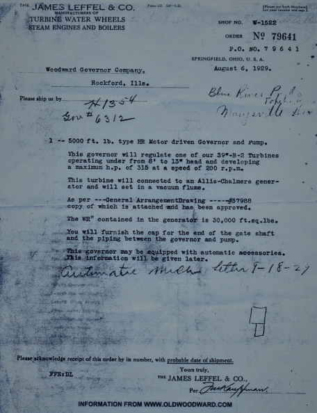 JAMES LEFFEL LETTER TO WOODWARD ON AUGUST 6, 1929..jpg