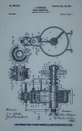 TURBINE WATER WHEEL GOVERNOR PATENTS.