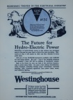 Hydro-Electric Power history, circa 1924.