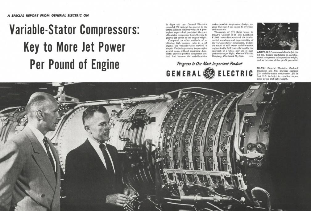 Gas turbine jet engine fuel control history  / Jet engine