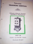 A vintage diesel engine governor service manual.