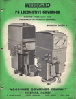 WOODWARD PG SERIES LOCOMOTIVE GOVERNOR MANUAL.