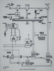 A Woodward governor schematic drawing for a gas turbine engine.