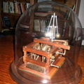 A patent model of Amos Woodward's first governor(patent number 103,813).
