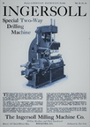 INGERSOL MIILLING MACHINE COMPANY HISTORY.
