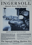 Vintage manufacturing equipment history and advertisements.